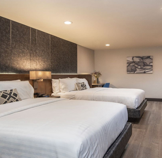 SPACIOUS AND NEWLY RENOVATED GUESTROOMS